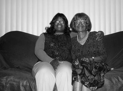Grandmother Annie B Attaway next to her daughter Carmelita Thurman. Photo: Courtesy Attaway family